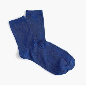 J. Crew Accessories - 3/$30 - NWT J.Crew Space Dye Lurex Bootie Socks